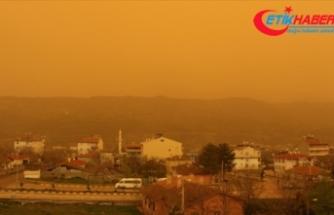 Türkiye, Avrupa'dan gelecek çöl tozu etkisine giriyor