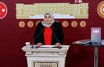 AK Parti'li Öçal, terör örgütü PKK'nın kadınlara yönelik çirkin yüzünü kitaplaştırdı