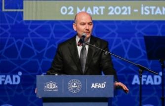 Bakan Soylu İstanbul İl Afet Risk Azaltma Planı programında konuştu