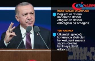 Cumhurbaşkanı Erdoğan: Eylem Planımızın nihai amacı yeni ve sivil bir anayasadır