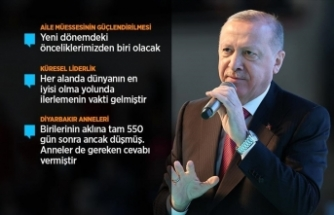 Cumhurbaşkanı Erdoğan: (Kadına karşı şiddetin önlenmesi) Şimdi Meclis'te yeni bir komisyon oluşturuyoruz