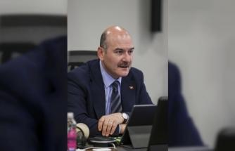 İçişleri Bakanı Soylu, valilerle Kovid-19 salgınına yönelik tedbirleri değerlendirdi:
