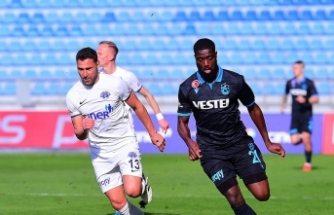 Kasımpaşa, evinde Trabzonspor'a 2-1 mağlup oldu