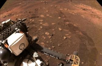 NASA'nın uzay aracı Perseverance, Mars'ta ilk test sürüşünü gerçekleştirdi