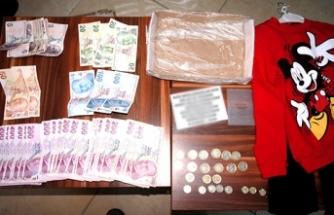 Sarıgöl'de dilencinin üzerinden 14 bin lira çıktı
