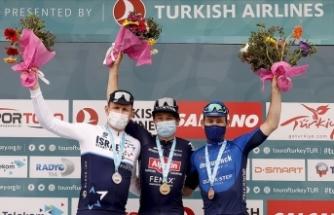 56. Cumhurbaşkanlığı Türkiye Bisiklet Turunun 7. etabını Philipsen kazandı