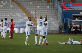 Büyükşehir Belediye Erzurumspor evinde kazandı