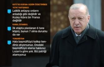 Cumhurbaşkanı Erdoğan: Dışişleri Bakanımız Dendias'ın tutumu karşısında haddini bildirdi