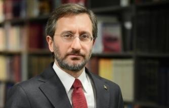 Cumhurbaşkanlığı İletişim Başkanı Altun'dan, Akşener'in Cumhurbaşkanı Erdoğan'a yönelik ifadelerine tepki