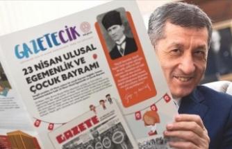 MEB'den çocuklara özel 'Gazetecik'