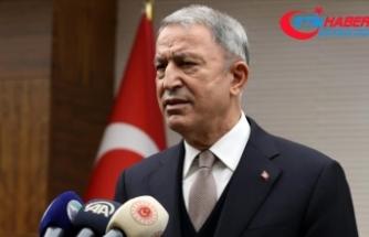 Milli Savunma Bakanı Hulusi Akar: Türk Silahlı Kuvvetleri milletinin emrinde, görevinin başındadır
