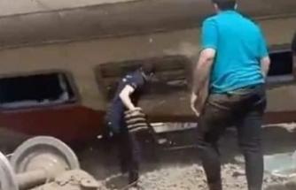 Mısır'da tren raydan çıktı: 8 ölü, 97 yaralı