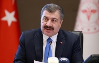 Sağlık Bakanı Bakan Koca, Kovid-19 vaka sayısı en çok artan ve azalan illerin grafiğini paylaştı