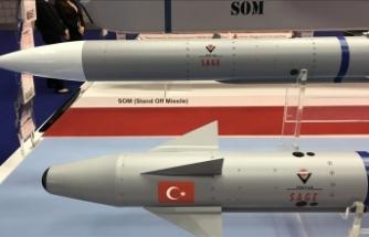Türkiye'nin ilk görüş içi havadan havaya füzesi Bozdoğan'ın 2022'de TSK envanterine girmesi hedefleniyor