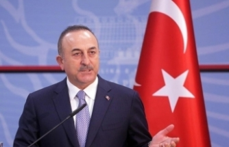 Bakan Çavuşoğlu, Filistinli mevkidaşı Malki ile ortak basın toplantısı düzenledi