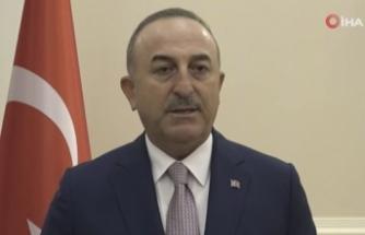 Çavuşoğlu'ndan Filistin açıklaması: 'Türkiye olarak sessiz kalamazdık'