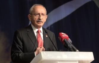 """CHP Genel Başkanı Kılıçdaroğlu: """"19 Mayıs, Samsun'dan doğup tüm yurda yayılan güneştir"""""""