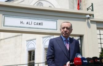 """Cumhurbaşkanı Erdoğan """"Bizim hazırlığımız da şu anda bitti, bitmek üzere"""""""