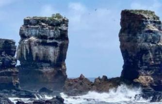 Ekvador'daki Darwin Kemeri erozyon nedeniyle çöktü