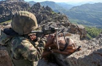 Irak'ın kuzeyindeki Avaşin-Basyan bölgesinde 6 PKK'lı terörist etkisiz hale getirildi