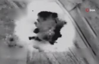 İsrail güçleri, Gazze saldırılarının görüntüsünü yayınladı