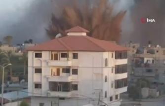 İsrail'in hava saldırılarında ölü sayısı 53'e yükseldi