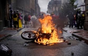 Kolombiya'da vergi reformu protestolarında can kaybı 24'e ulaştı