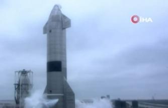 SpaceX'in uzay mekiği Starship'in prototipi 5. denemede başarılı şekilde yere indi