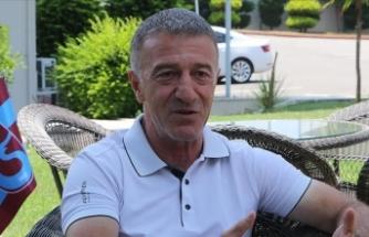 Trabzonspor Kulübü Başkanı Ağaoğlu: Hedeflerimiz de potansiyelimiz de büyük