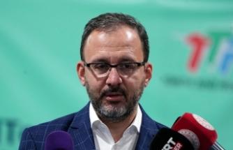 """Bakan Kasapoğlu: """"Geçmişte sporcu olmayan branşlarda artık kota alıyoruz"""""""