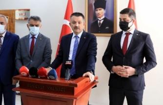 Bakan Pakdemirli'den Tunceli'ye 'tarım ve hayvancılıkta yeni destek' müjdesi