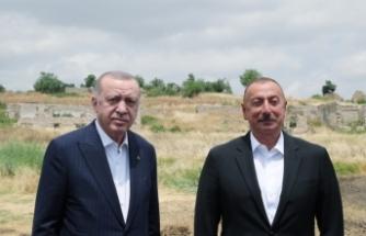Erdoğan ve Azerbaycan Cumhurbaşkanı İlham Aliyev'in imzaladığı Şuşa Beyannamesi açıklandı