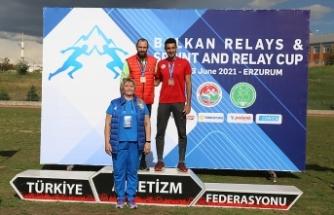 Erzurum'da düzenlenen Sprint Relay Cup sona erdi