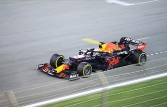 F1 Fransa Grand Prix'sinde zafer Verstappen'in