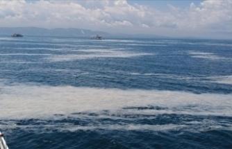 İzmit Körfezi'nde müsilaj etkisini sürdürüyor