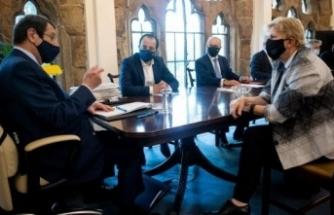 KKTC Cumhurbaşkanı Tatar, BM Genel Sekreterinin Özel Danışmanı Lute'yi kabul etti