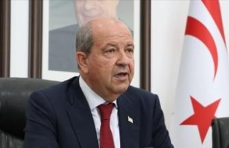 KKTC Cumhurbaşkanı Tatar: Eşitliğimizin kabulüyle ancak resmi müzakerelere geçilebilir