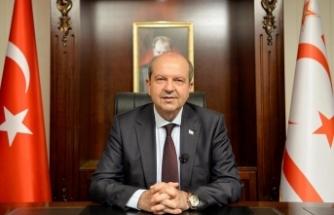 """KKTC Cumhurbaşkanı Tatar'dan Türkiye'ye """"Turcovac"""" tebriği"""
