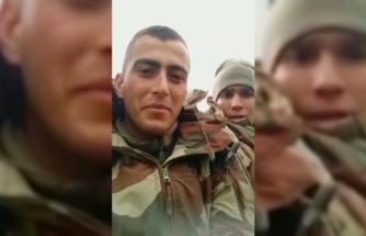 Konyalı şehidin 'Ölürsek cennet bizim, kalırsak vatan' dediği görüntüleri ortaya çıktı /Video