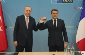 Macron: 'Libya ile ilgili Erdoğan ile birlikte çalışacağız'