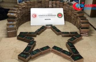 Mersin'de bir haftada ele geçirilen kokain miktarı 1 ton 763 kilogramı buldu