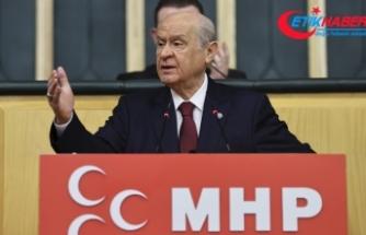 MHP Lideri Bahçeli: CHP-İP-HDP ve diğer ortakları krize oynuyor, hatta sokakları karıştırmak istiyor