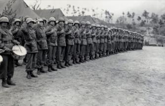 MSB 1950'lerde Kore'de görev yapan Türk askerlerinin fotoğrafını paylaştı