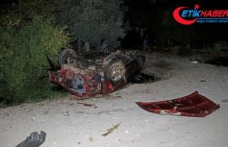 Muğla'da takla atan otomobilin sürücüsü öldü
