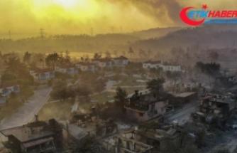 Bakan Pakdemirli: Manavgat yangını kontrol altında ancak Akseki'de devam eden bir yangın var