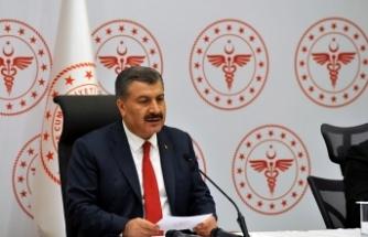 Sağlık Bakanı Koca: İlk doz aşısını yaptırmayanların sayısı 22 milyon 344 bin 407'ye indi