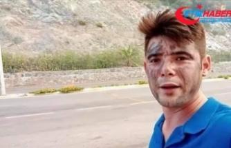 Marmaris'teki yangına müdahale eden itfaiyecilere 'gönüllü olarak' su taşırken hayatını kaybetti