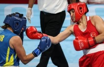 Milli boksör Busenaz Sürmeneli: Arkamda milyonların olduğunu biliyorum