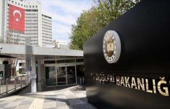 Dışişleri Bakanlığı'na çağrılan 10 ülkenin diplomatik misyon şefi Bakanlığa geldi