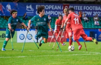 Ampute Futbol Milli Takımı, Avrupa Şampiyonası'nda çeyrek finalde